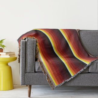 Autumn Palette Throw Blanket