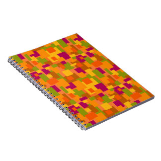 Autumn Patch 2 Abstract Art Notebook 80pg