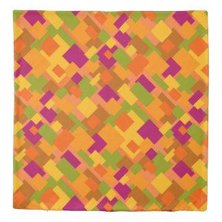 Autumn Patch 2 Duvet Cover Diagonal Pattern