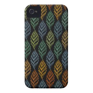 Autumn pattern b iPhone 4 case