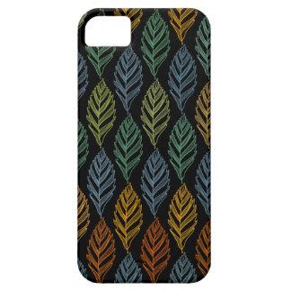 Autumn pattern b iPhone 5 cases