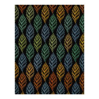 Autumn pattern b letterhead