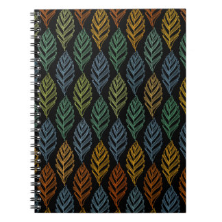 Autumn pattern b notebook