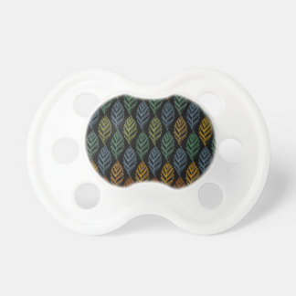 Autumn pattern b pacifier