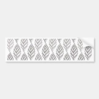 Autumn pattern bumper sticker