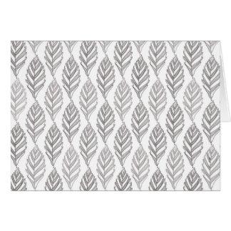 Autumn pattern card