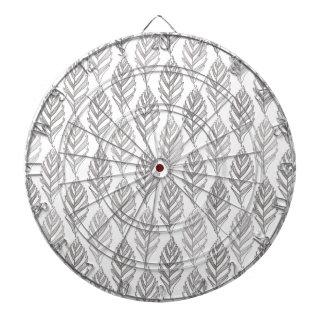 Autumn pattern dartboard