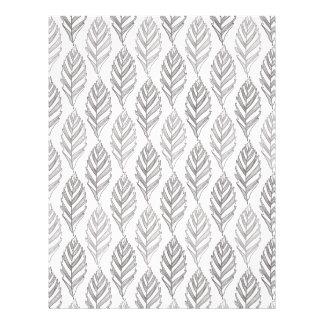 Autumn pattern letterhead