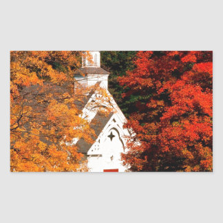 Autumn Peaking Color Vermont Sticker