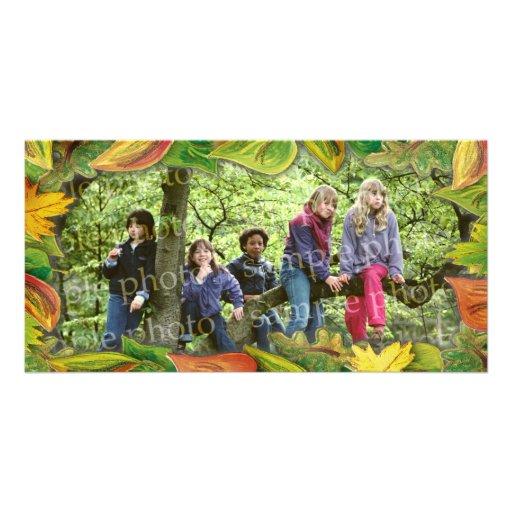 Autumn photo frame - Photo Card