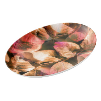 Autumn Porcelain Serving Platter