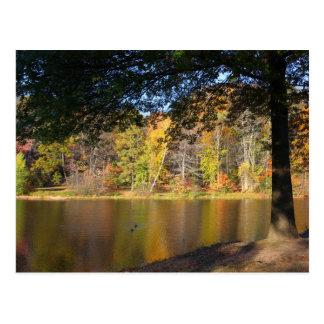 Autumn Post Card Rockwell Park Bristol CT