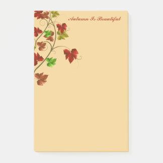 Autumn Post Notes