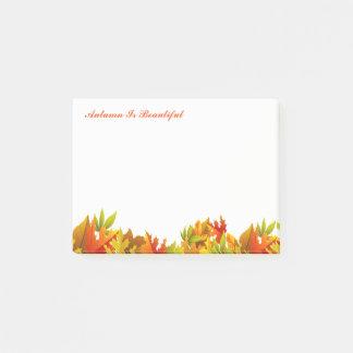 Autumn Post Notes-Autumn Is Beautiful Post-it Notes