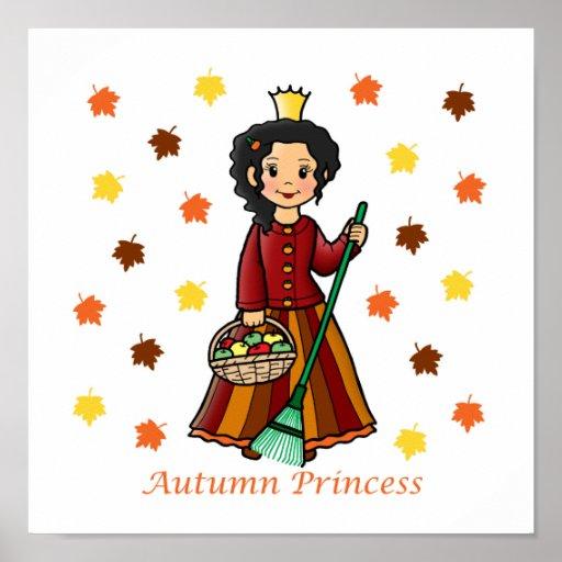 Autumn Princess Print