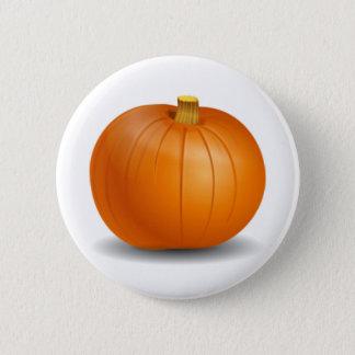 Autumn Pumpkin Button