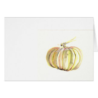 autumn pumpkin card