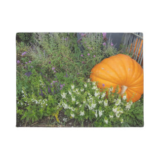 Autumn Pumpkin garden Door Mat