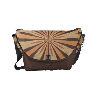 Autumn Pumpkin Spice Star Pattern Commuter Bag