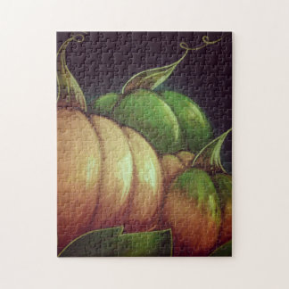 AUTUMN PUMPKINS 11x14 Photo Puzzle with Gift Box