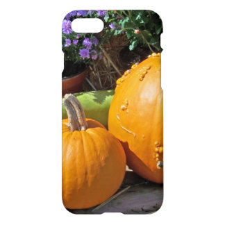 Autumn Pumpkins and Flowers iPhone 7 Case