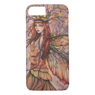 Autumn Queen Fairy Fantasy Art by Molly Harrison iPhone 7 Case