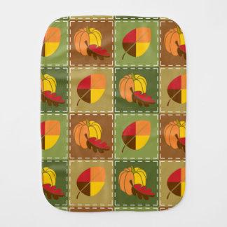 Autumn Quilt Burp Cloth