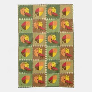 Autumn Quilt Kitchen Towel