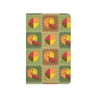 Autumn Quilt Pocket Journal
