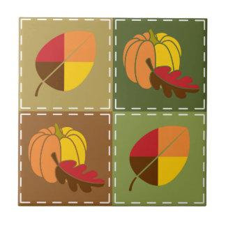 Autumn Quilt Tile
