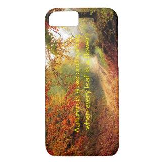 Autumn quote iPhone 7 case