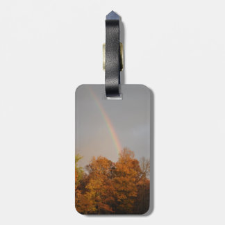 Autumn Rainbow Bag Tag