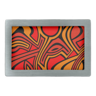 Autumn Rectangular Belt Buckles
