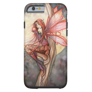 Autumn Red Fairy Fantasy Art by Molly Harrison Tough iPhone 6 Case