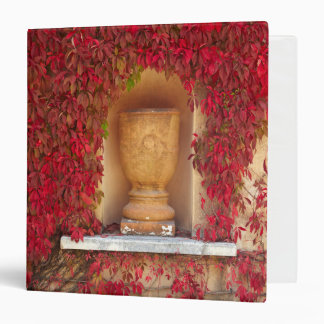 Autumn red foliage, New Zealand 3 Ring Binder