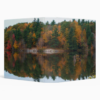 Autumn Reflections, 3 Ring Binder