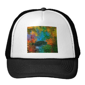 Autumn Reflections Of Maine Hat