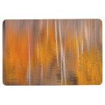 Autumn Reflections on Beaver Pond | Winthrop, WA Floor Mat