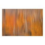 Autumn Reflections on Beaver Pond | Winthrop, WA Wood Wall Art