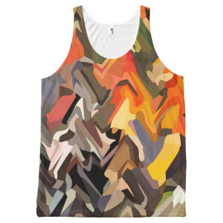 Autumn River All-Over-Print Tank Top