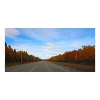 Autumn Road Photo Print