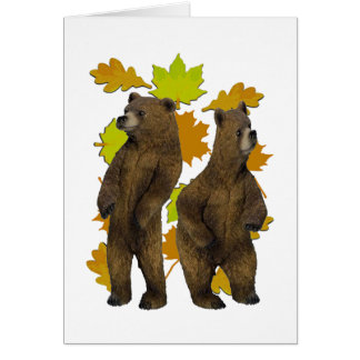 Autumn Rush Card