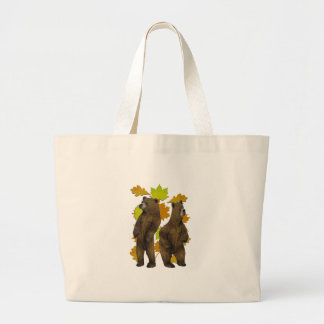 Autumn Rush Large Tote Bag