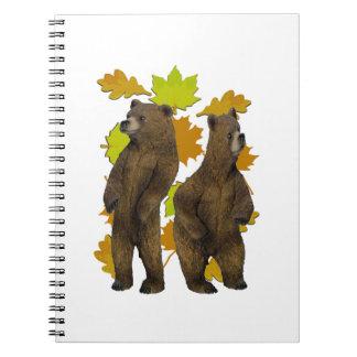Autumn Rush Notebook