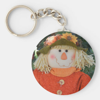Autumn Scarecrow Doll Keychain
