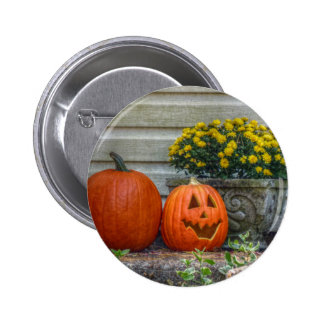 Autumn Scene 2 Inch Round Button