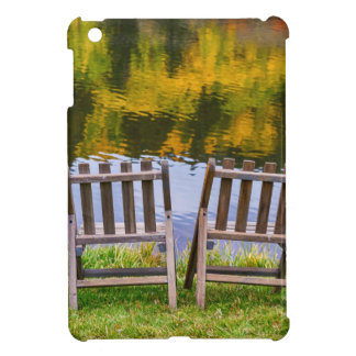 Autumn Season Romantic Lake View For Two iPad Mini Cover