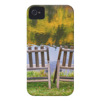Autumn Season Romantic Lake View For Two iPhone 4 Covers