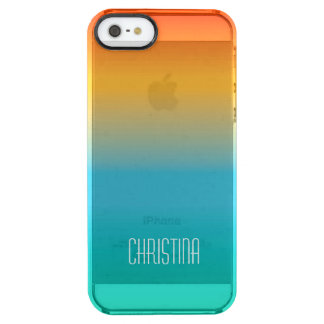 Autumn Shade Clear iPhone SE/5/5s Case