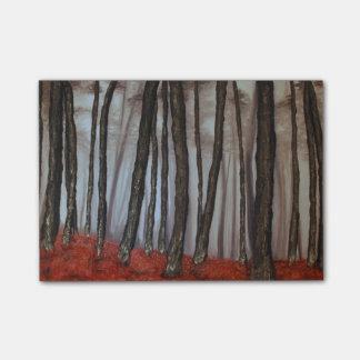 Autumn Shadows by Fine Artist Alison Galvan Post-it Notes